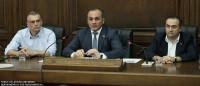 RSC PARTICIPATES IN ARMENIAN PARLIAMENT PRESS CONFERENCE