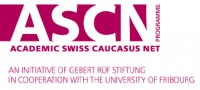 NEW RSC RESEARCH PROJECT WITH ACADEMIC SWISS CAUCASUS NET (ASCN)
