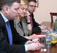 RSC BRIEFS VISITING LATVIAN AND UK PARLIAMENTARY DELEGATIONS